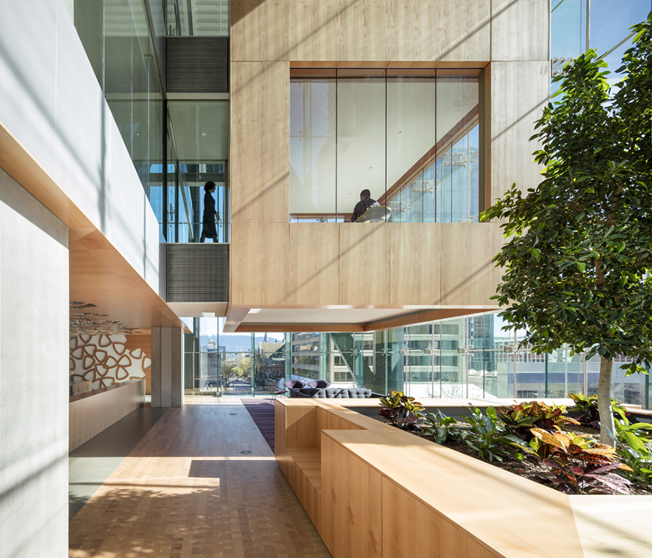 office of mcfarlane biggar architects + designers, Vancouver, Telus Garden