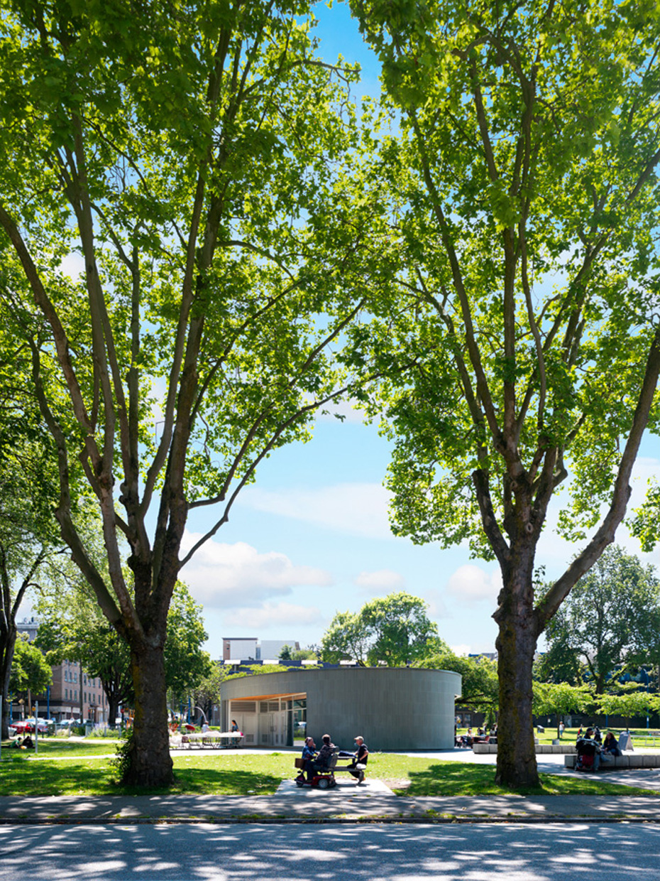 office of mcfarlane biggar architects + designers, Vancouver, Oppenheimer Park Community Activity House