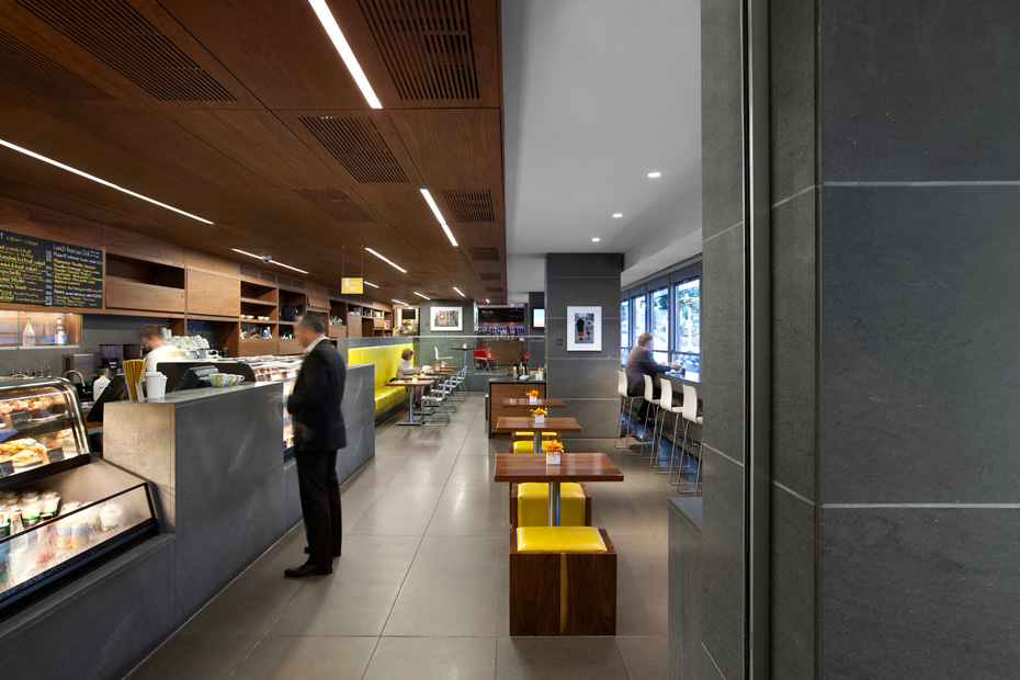 office of mcfarlane biggar architects + designers, Vancouver, Giovane Café + Bakery + Deli