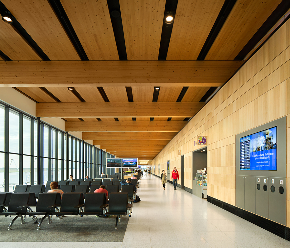 office of mcfarlane biggar architects + designers, Fort McMurray, Fort McMurray International Airport