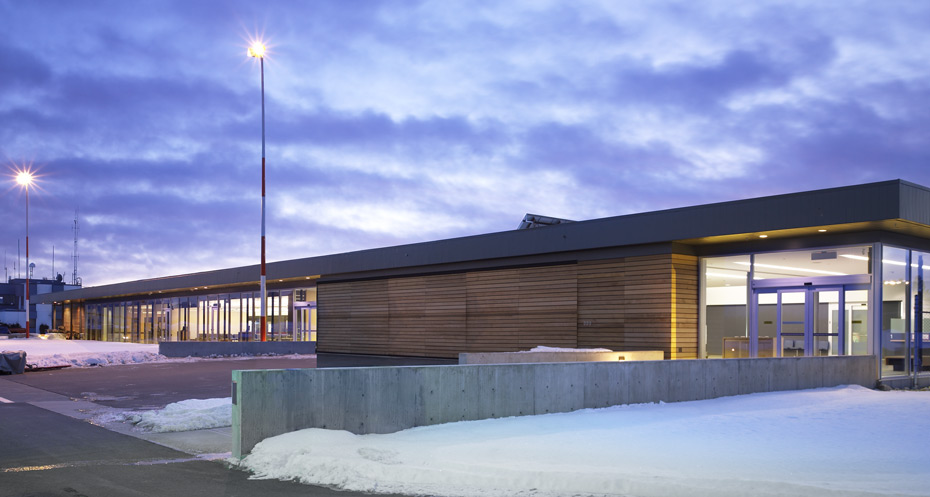 office of mcfarlane biggar architects + designers, Cranbrook, Canadian Rockies International Airport