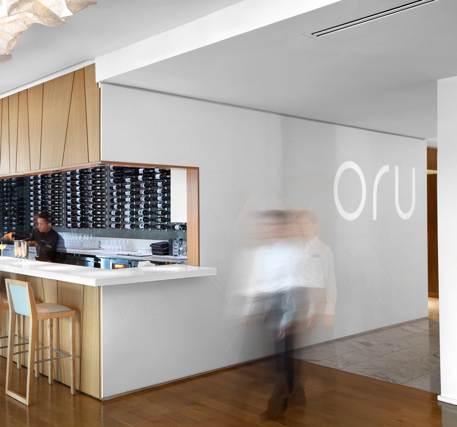 office of mcfarlane biggar architects + designers, Vancouver, Oru Restaurant