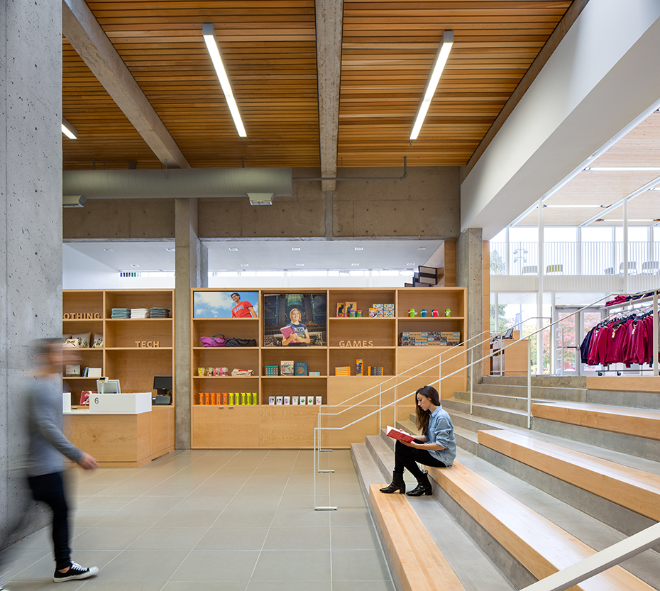 office of mcfarlane biggar architects + designers, Vancouver, UBC bookstore renovation + expansion