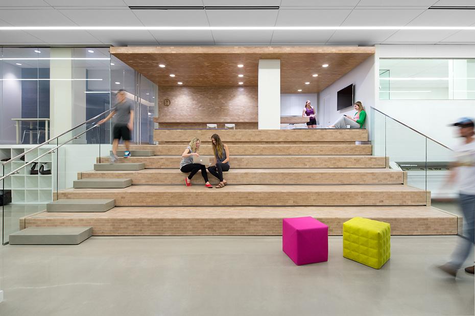 office of mcfarlane biggar architects + designers, Vancouver, lululemon Whitespace Workshop