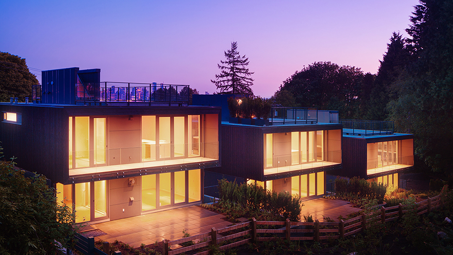 office of mcfarlane biggar architects + designers, North Vancouver, houses at 1340