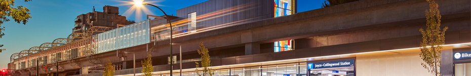 office of mcfarlane biggar architects + designers, Vancouver, Joyce Collingwood SkyTrain Station Upgrades