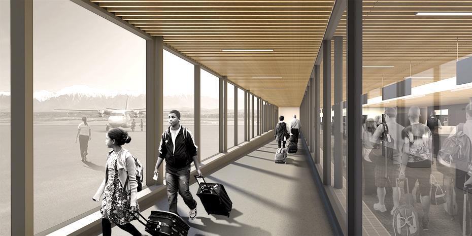 office of mcfarlane biggar architects + designers, Terrace, BC, Northwest Regional Airport Terrace-Kitimat