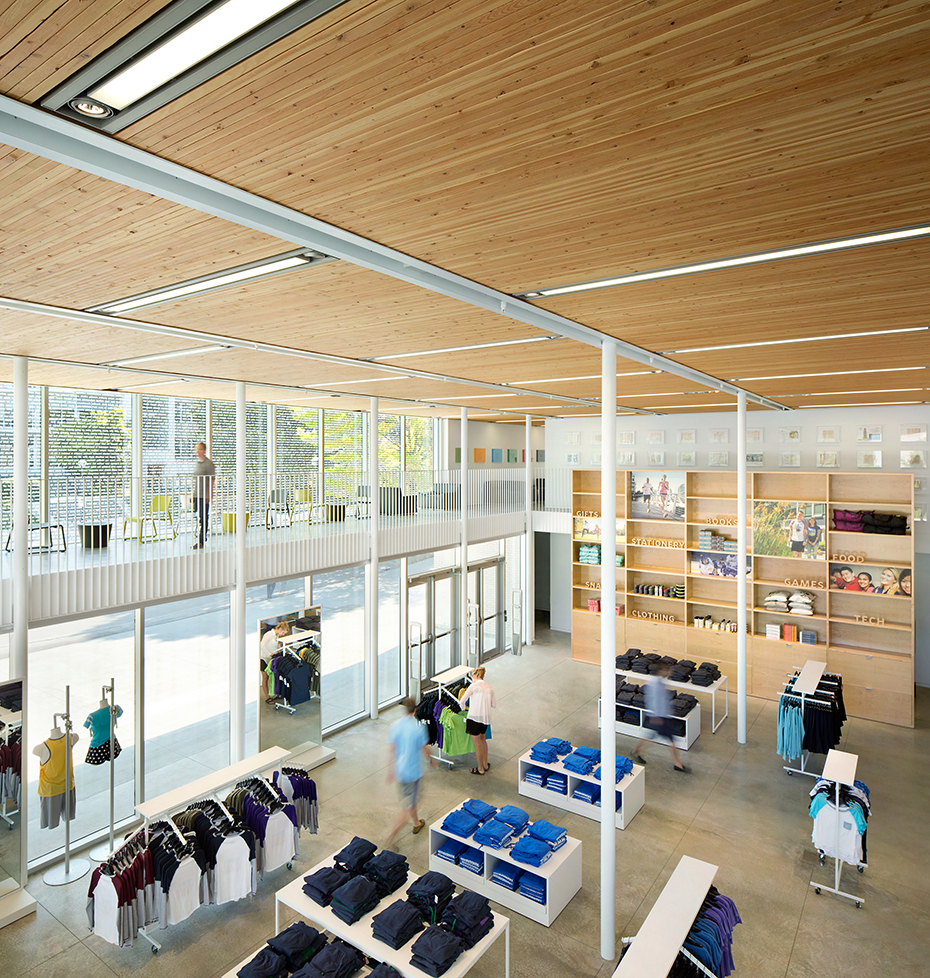 office of mcfarlane biggar architects + designers, Vancouver, British Columbia, Canada, UBC bookstore renovation + expansion