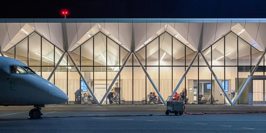 office of mcfarlane biggar architects + designers, Nanaimo, British Columbia, Canada, Nanaimo Airport