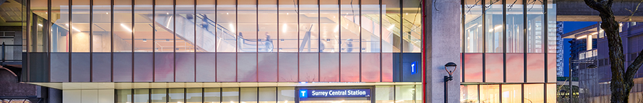office of mcfarlane biggar architects + designers, Surrey, Surrey Central SkyTrain Station Upgrades