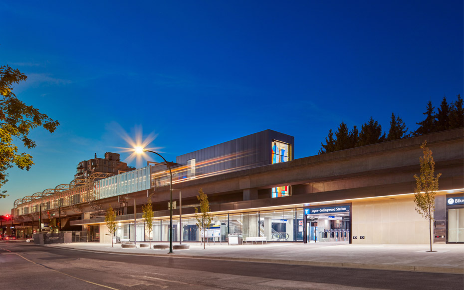 office of mcfarlane biggar architects + designers, Vancouver, BC, Joyce Collingwood SkyTrain Station Upgrades