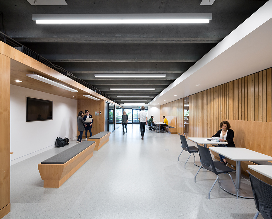 office of mcfarlane biggar architects + designers, Burnaby, BC, SFU Department of Mathematics Renovations