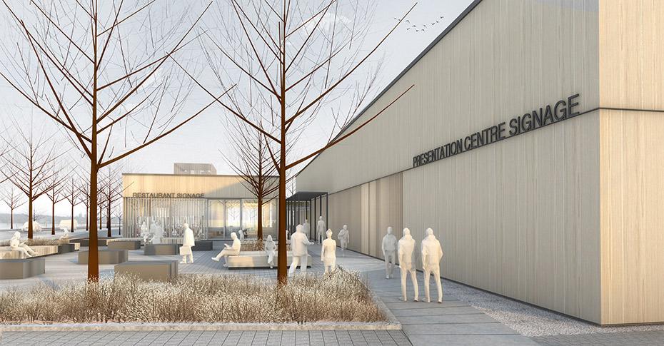 office of mcfarlane biggar architects + designers, Coquitlam, British Columbia, Canada, Fraser Mills Presentation Centre